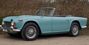 1968 Triumph TR4A IRS Left Hand Drive