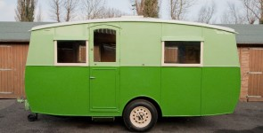 1948 Eccles Enterprise 4 berth caravan
