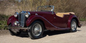1937 MG VA 1500 Tourer
