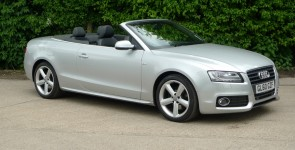 2011 Audi A5 2.0 Tdi (170ps) S-Line Cabriolet