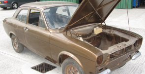 Ford Escort Mexico - Restoration Project