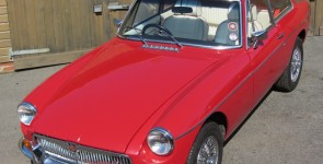 1975 MGB GT Automatic with Full Length Webasto Sunroof