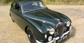 1958 Jaguar Mk I 3.4 Sports saloon
