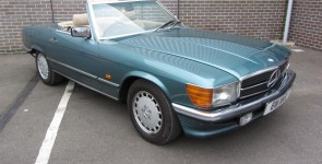 1987 Mercedes 420SL Automatic Roadster