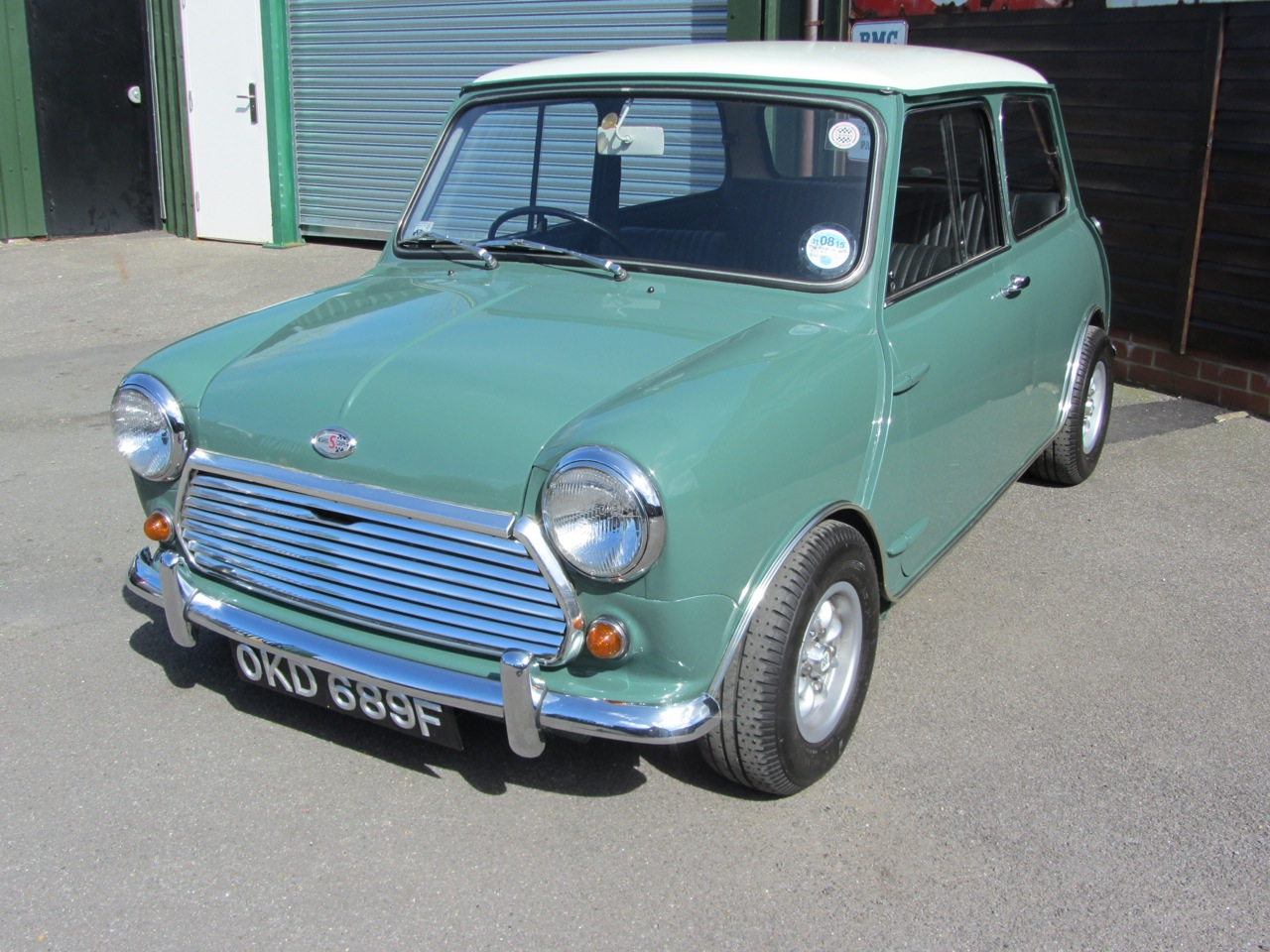 Mini 1968 mini cooper : Welcome to Sussex Sports Cars. Sales of Classic Cars by Gerry ...