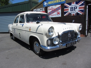 Ford Zephyr Rally Car 206E