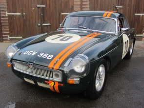 1964 MGB Racecar with full  FIA /MSA Papers