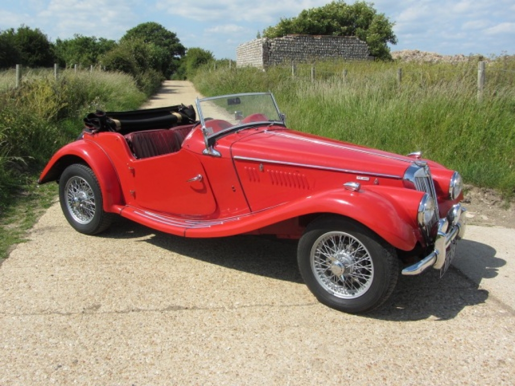 Welcome to sussex sports cars sales of classic cars by gerry 1955 mg tf 1500 original uk right hand drive sold poa vanachro Images