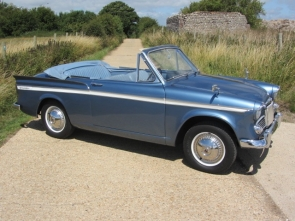 1963 Sunbeam Rapier Convertible Series 3a Coupe De Ville
