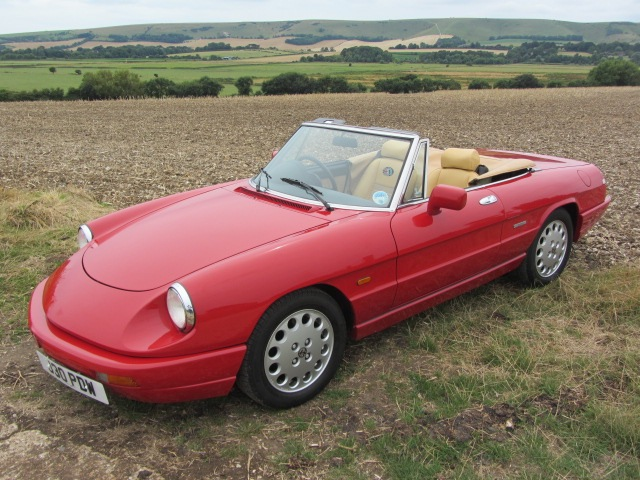 Welcome To Sussex Sports Cars Sales Of Classic Cars By Gerry Wadman - 1991 alfa romeo spider for sale