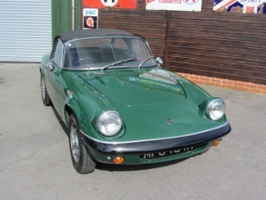1969 lotus Elan S4 Special Equipment Drophead Coupe