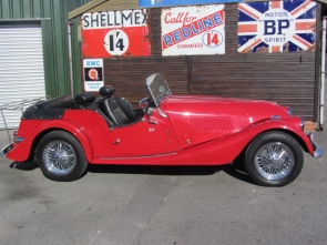 1983 Morgan 4/4  4 seater