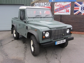 2010 Land Rover Defender 90 Pick Up Low Mileage