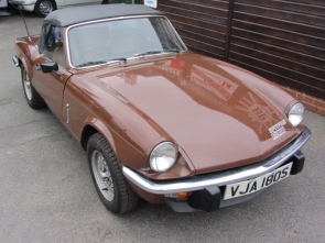 1978 Triumph Spitfire 1500 Convertible 1 owner from new