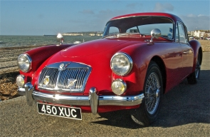 1958  MGA 1500 Mk1 Coupe with 2 owners from new