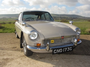 1968 MGB GT Automatic Series 1
