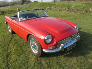 1968 MGC Roadster with Hydraulic Power Steering