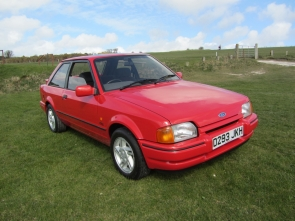1986 Ford Escort XR3i with 26k miles from new