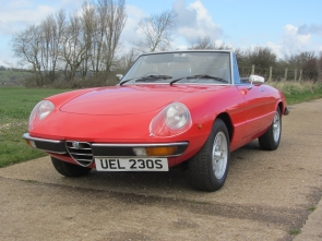 1977 Alfa Romeo 2000 Spider Veloce with just 13k Miles from new