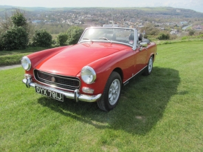 1970 Austin Healey Sprite with Heritage Shell and 5 speed Gearbox