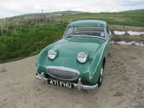 1959 Austin Healey Frogeye Sprite. Last owner 45 years