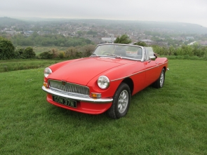 1974 MGB Roadster Tax Exempt
