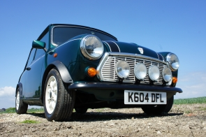 1993 Mini Italian Job Limited Edition 2 owners and 19k miles from new