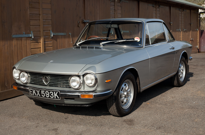 1972 Lancia Fulvia 1.3s with just 23k miles from new for sale
