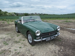 1971 MG Midget Round Wheel Arch 1275cc Tax Exempt