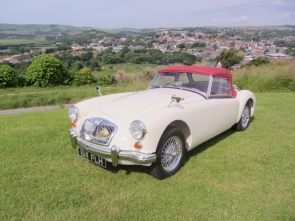 1961 MGA 1600 Mk 2 Convertible .Original UK car with 16k miles from new