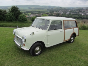 1969 Morris Mini Traveller with only 35k miles