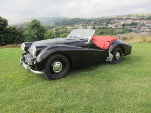 1953 Long Door Triumph TR2