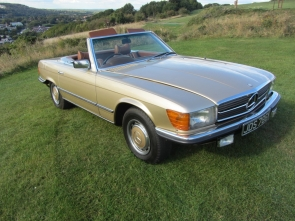 1972 Mercedes 350SL Coupe