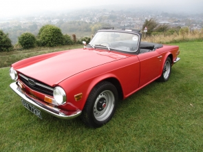 1971 Triumph TR6 with 150BHP Fuel Injection Engine