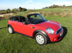 2012 Mini One Convertible