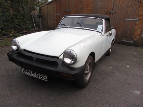 1978 MG Midget Project