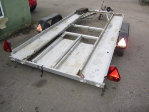 4 Wheel Car Trailer