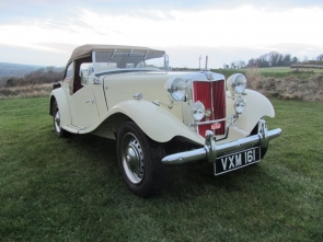 1953 MG TD Sports Fully Restored UK RHD Car
