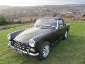 MG MIDGET 1275 roadster 1974