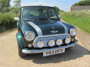 Mini Cooper Sport 500 Previously cherished by the author Lee Child