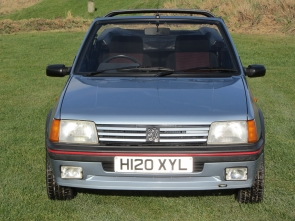 1990 Peugeot 205 CTi 1.6 one owner, very low mileage phase 1.5