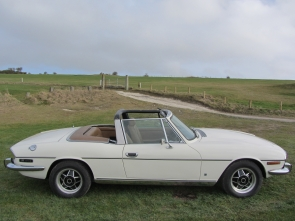 Triumph Stag with Rover V8 conversion and 5 speed gearbox