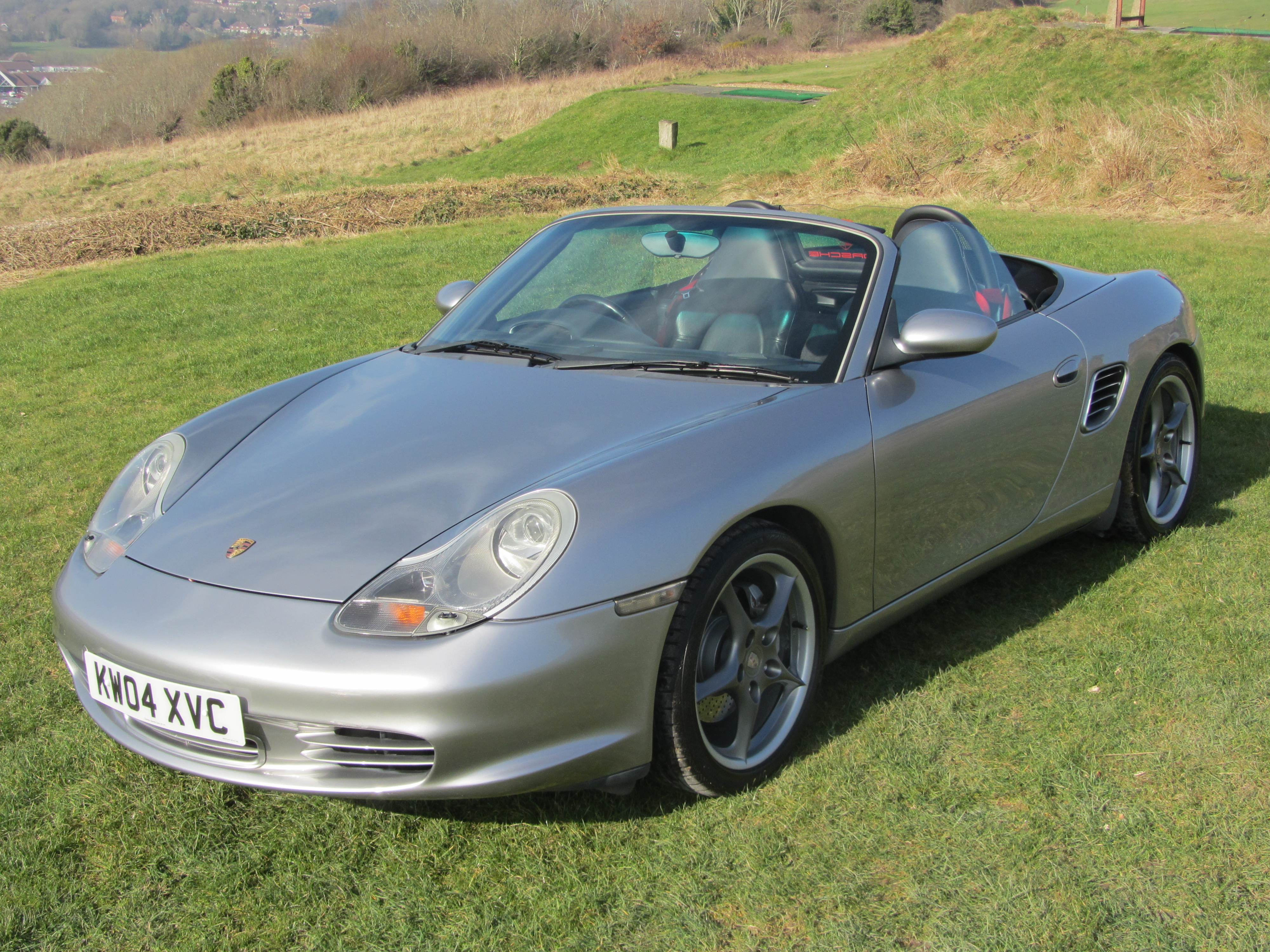 Porsche Boxster S Limited edtion 550 Spyder Tipronic S GT Silver for sale