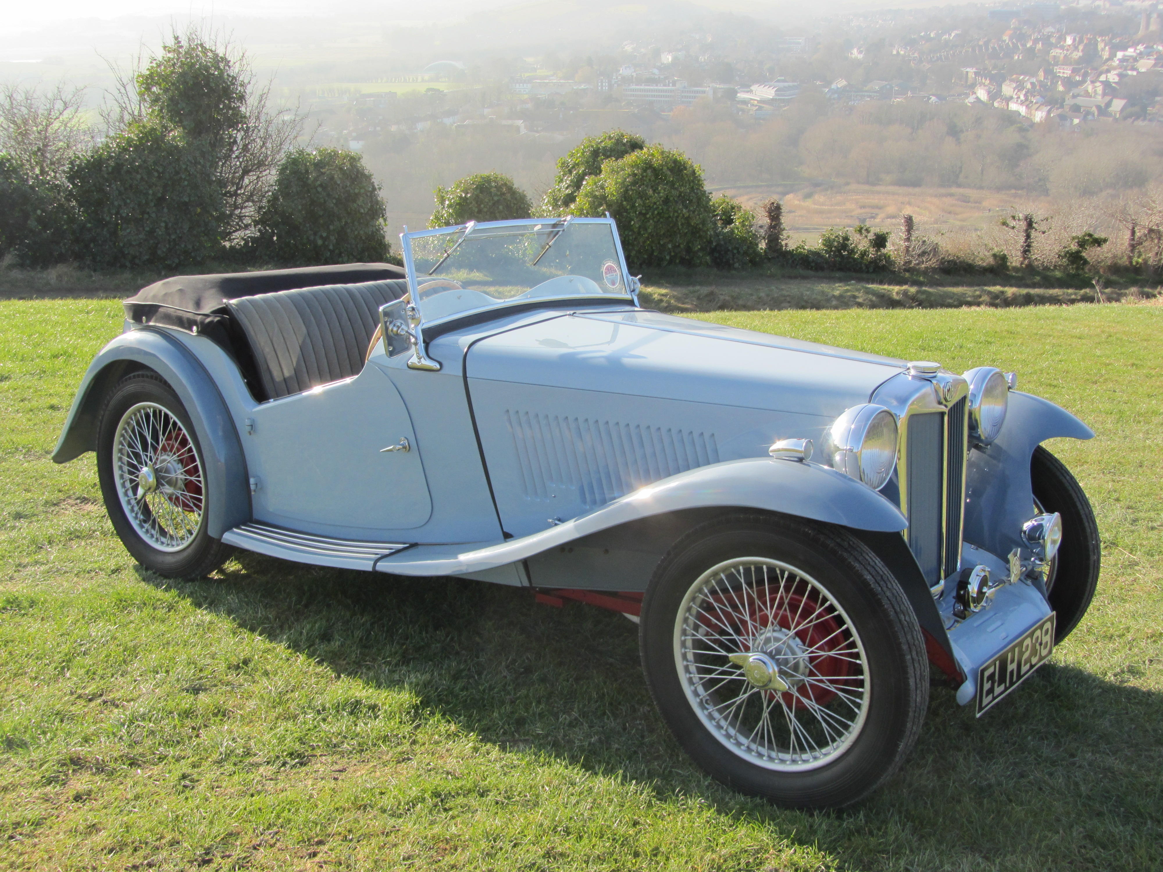 1937 MG TA last owner 47 years for sale