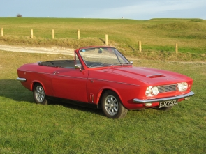 1970 Bond Equipe convertible 2.0 Vitesse 6 cylinder engine with overdrive