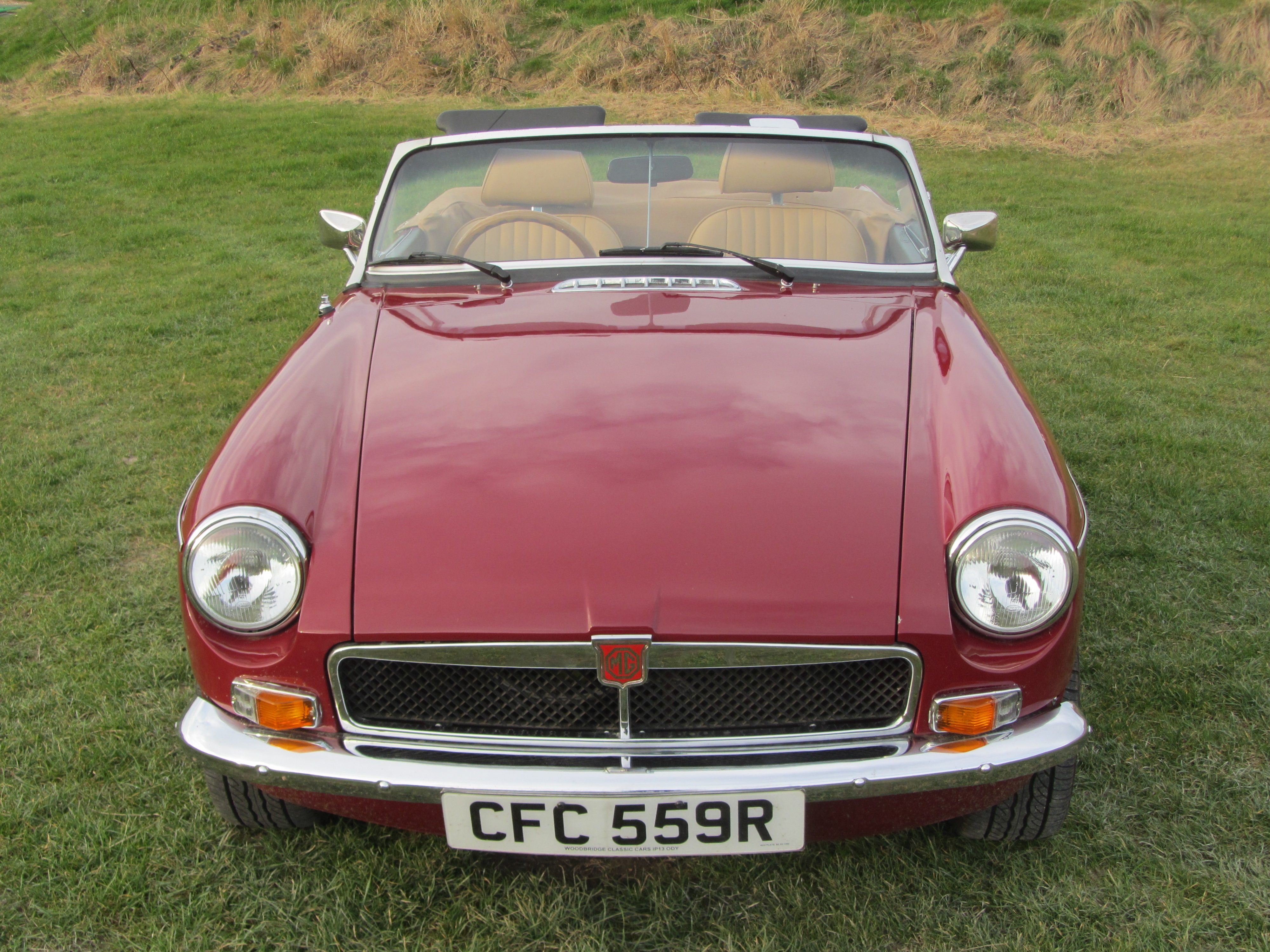 1977 MG-B sports roadster 4 speed with overdrive for sale
