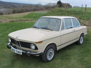1975 BMW 2002 4 speed manual