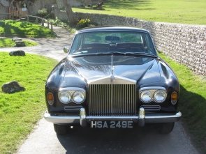 1967 Rolls-Royce Mulliner Park Ward Coupe LHD