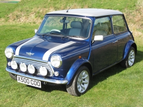 2001 Rover Mini Cooper Sport 500  just  298 miles from new