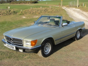 1982 Mercedes-Benz 380SL 38,000 miles from new, one owner